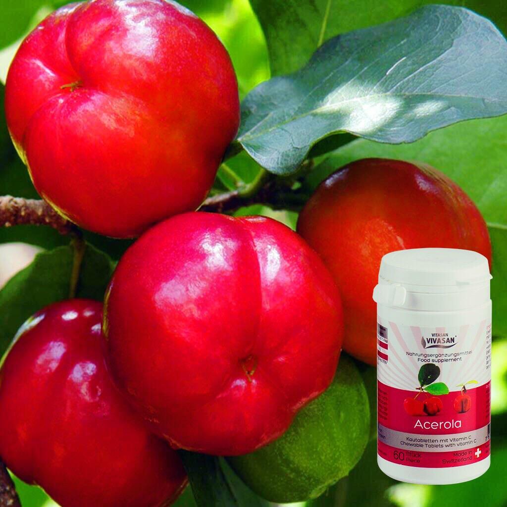 «АЦЕРОЛА» с тропической вишней ацеролой в таблетках