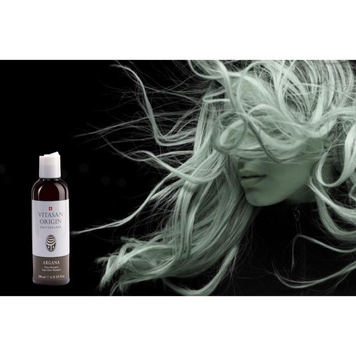 Шампунь для блеска волос Аргана