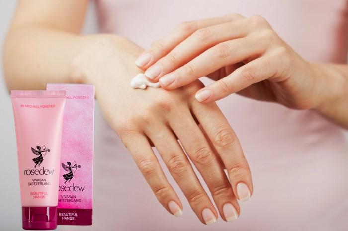 Крем для рук Роуздью - Hand cream Rosedew.