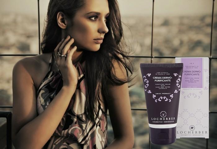 Крем-пурификант для глубокой очистки проблемной кожи с экстрактом шалфея и тимьяна pH 6.3