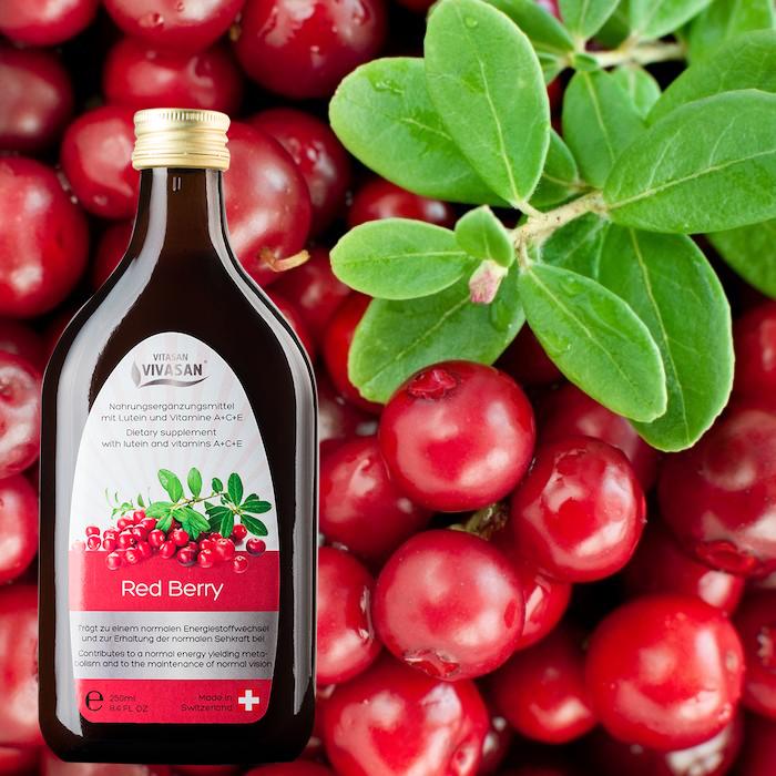 Красная Ягода с витаминами и лютеином