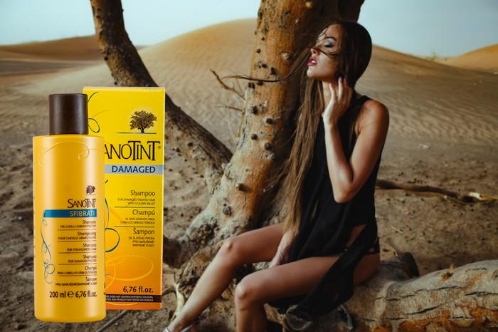 Шампунь для поврежденных волос СаноТинт pH 5,5-6